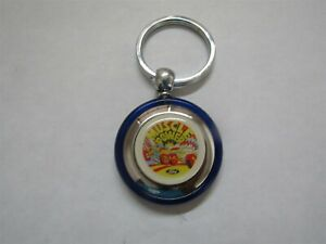 Ford Muscle Parts Mustang Torino Fairlane Shelby Boss 302 429 Keychain Blue Rnd