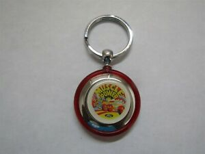 Ford Muscle Parts Mustang Torino Fairlane Shelby Boss 302 429 Keychain Red Rnd