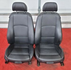 07 09 Oem Bmw E92 Coupe 328 335 Black Sport Leather Left Right Front Seats Pair