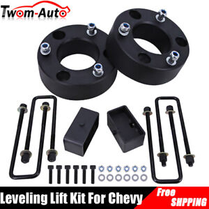 Leveling Lift Kit 3 Front And 2 Rear For 07 20 Chevy Silverado Gmc Sierra 1500