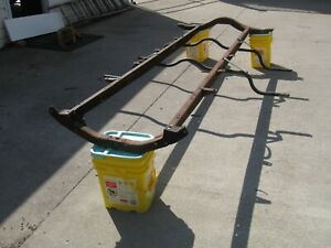 Model T Ford Frame 1926 And Or 1927 With Running Board And Other Brackets