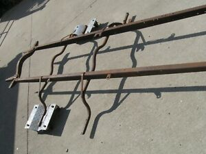 Model T Ford Frame 1921 Thru 1925 With Running Board And Other Brackets