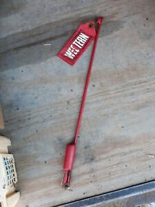 1 Snow Plow Blade Marker Guide Stick W Flag Western 59700