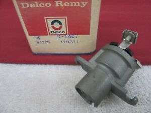 Nos 1947 1953 Buick Chevy Pontiac Ignition Switch less Cylinder And Keys Dp