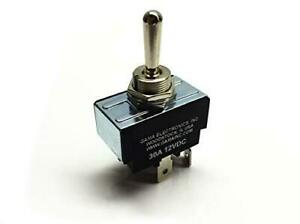 30 Amp Toggle Switch 3 Position Reverse Polarity Dc Motor Control Maintained