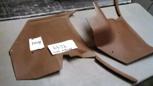 1968 1972 Oem Gm Chevelle Gto Buick Olds A Body Kick Panel Ac tan 7004