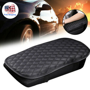 Universal Car Armrest Cushion Cover Center Console Box Pad Protector Accessories