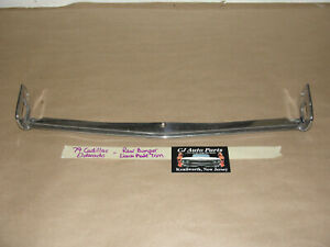 Oem 79 Cadillac Eldorado Back Rear Bumper License Plate Escutcheon Trim Molding