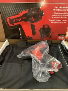 Snap On 14 4v Cordless Screwdriver Kit Cts761a Red