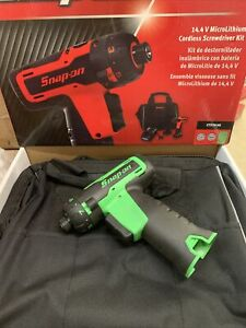 Snap On 14 4v Cordless Screwdriver Kit Cts761ag Green