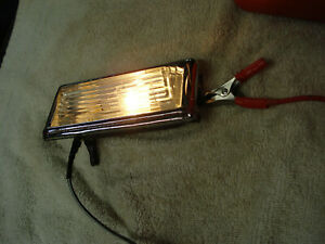 Vintage Power Wagon Truck Dome Light Assembly 40 S 50 S