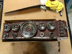 1963 1964 Chrysler Imperial New Yorker Newport Dash Gauge Instrument Cluster R