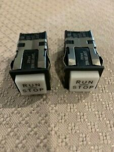 Micro Switch Push button Switches Aml Series 20 Run stop Legend