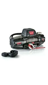 Warn 103253 Vr Evo 10 s 10 000 Lbs Winch With Synthetic Rope Wireless