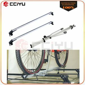 For Universal Top Roof Cross Bar 2x Cross Bar Top Roof Rack Cargo Rack Bike