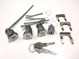 Ignition Door Trunk Lock Set Chrysler Dodge Plymouth 1966 68 A B Body
