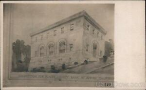 RPPC AuburnCA Competition for Placer County Bank Drawing Architecture Postcard $14.99