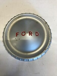 Ford Dog Dish Vintage Hubcap Falcon 1960 s Patina Hot Rod Custom Old Antique