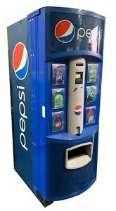 Dixie Narco 276e Hvv Pepsi Beverage Vending Machine Free Shipping