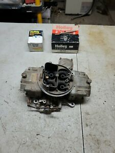 Holley 3310 Carburetor 4bbl With Extra Parts