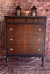 Beautifuly Refinished Antique Dresser