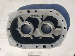Weiand Magnesium Bearing Plate For Blower Supercharger 671 871 1471