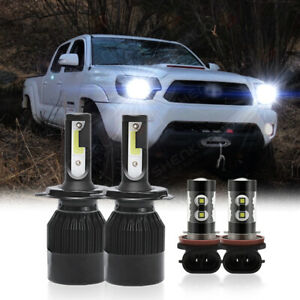 For Toyota Tacoma 2012 2013 2014 2015 Led Headlight High low Fog Lights Bulbs
