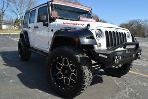 2014 Jeep Wrangler 4x4 Sport edition over 10k Upgrades 2014 Jeep Wrangler Unlimited Sport 4 door Suv 3 6l v6 4x4 leather camera lifted