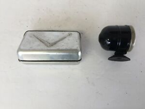 2 Accessory Deluxe Ashtrays Chevrolet Ford Buick Dodge Plymouth Olds Nash