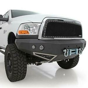 Smittybilt M1 Dodge Truck Winch Mount Front Bumper With D ring Mounts And Light