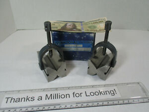 Set 2 National Double Side V Blocks 2 Clamps Vee Block W Oem Box Ec