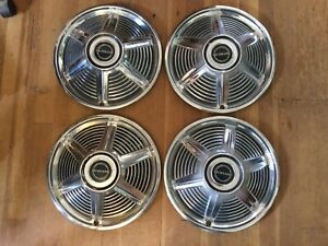 1965 Mustang Hubcaps Set Of Four 14