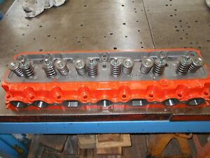 Chevrolet 235 261 Mcgurk Ported Cylinder Head Inline Straight Six 6 Stovebolt