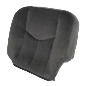Driver Side Bottom Cloth Seat Cover Gray For 2003 2007 Gmc Sierra 1500 2500 3500