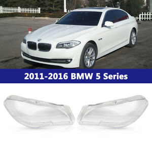 Pair For 2011 2016 Bmw 5 series F10 528i 535i 550i Headlight Clear Lens Lh rh Us