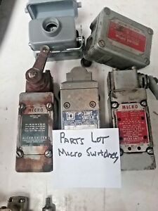 Micro Switches Lot assortment 2191