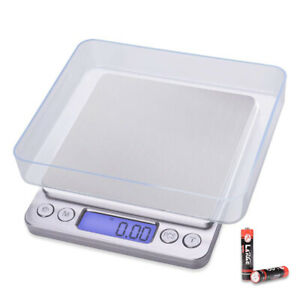 New 3kg One Digital Shipping Postal Scale W ac Postage 0 05g 0 5g Kitchen Scale