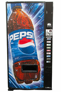 Dixie Narco 501e Pepsi Soda Vending Machine W Nayax Card Reader Free Shipping