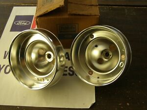 Nos Oem Ford 1962 Galaxie 500 Tail Light Lamp Bodies Buckets Housings Pair Xl