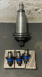 Smith Tool Cat50 Tapping Holder C50 tr1 300 Cnc Lathe Milling Tz12 Big Used