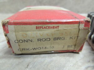 Oliver 66 Rod Bearing Set 010 129 Gas 66 55 Wow Nos Crkw014 10