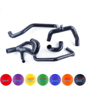 Black Silicone Radiator Water Hose For Land Rover Discovery 2 4 0l V8 1998 2004