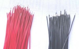 200ct Precut stripped 30 Awg Wire 30 Gauge100pcs Red And 100pcs Black Usa S h