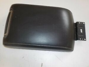 Center Console Lid Rear Floor Fits 09 10 11 12 Ford Flex Black Leather Oem