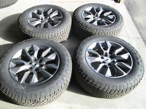 20 Chevy Silverado 1500 Tahoe Ltz Oem Factory 20 Wheels Rims Tires 2020 Gy