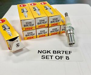 3346 Ngk Br7ef Spark Plug Turbo Boost Pack Of 8