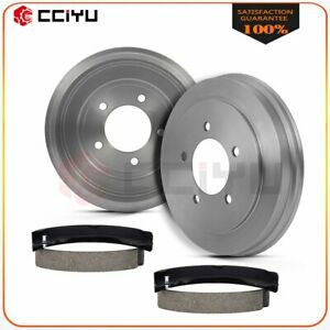 For 2013 2015 2016 2017 Jeep Patriot Compass Rear Brake Drum Shoes
