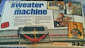 Bond Incredible Ultimate Sweater Machine With Row Counter