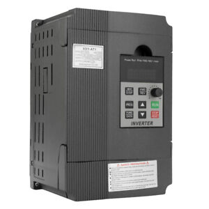 2 2kw 2hp 220v 12a Variable Frequency Drive Inverter Vfd Single To 3 Phase X9h8
