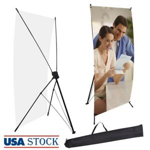 24 X 63 X type Banner Stand Trade Show Display Tripod Commercial Advertising